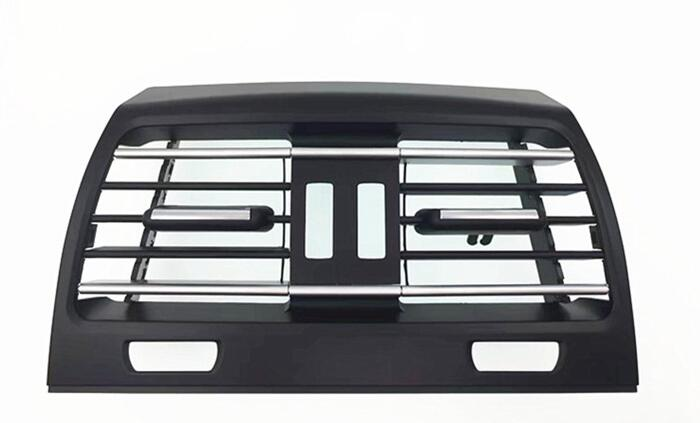 1 piece Rear Center Console Fresh Air Outlet Vent Grille Cover for BMW F01 F02
