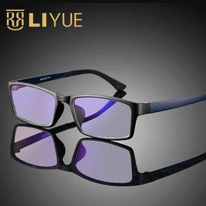 Image 1 - Computer Goggles women Anti blue ray Glasses men anti radiation Optical eyewear frame 100% UV400 Spectables frame 1308