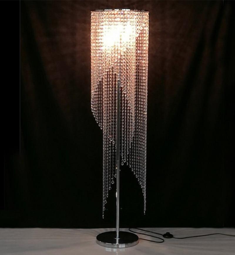 Decorative Flower tree floor light lamp crystal stand lamp LED ...