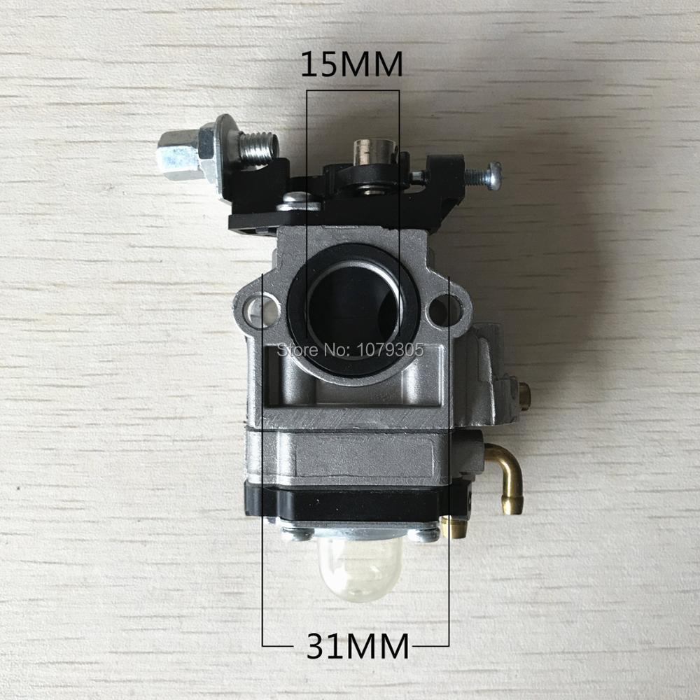 1E40F-5 / 1E44-5 430 42,7 cm3 / 49,3 cm kosiarka Kosiarka 15 mm - Narzędzia ogrodnicze - Zdjęcie 3