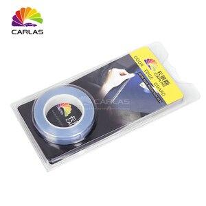 Image 5 - CARLAS Transparent Self Adhesive Door Edge Film Paint Protection PVC Free Shipping