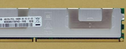 M393B5170FHD-YH9 for 4GB(1*4GB) 2Rx4 PC3L-10600R-09 -10-E1-D2 Memory new condition with one year warranty