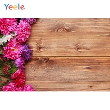 Yeele Aster Flower Wooden Board Texture Planks Goods Show Res Photography Backgrounds Photographic Backdrops For Photo Studio yeele rose flower simple wooden board texture planks goods show photography backgrounds photographic backdrops for photo studio