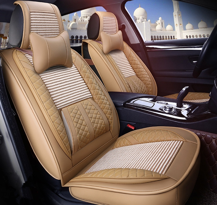 Good quality! Full set car seat covers for Skoda Octavia 2018-2013 durable breathable seat covers for Octavia 2016,Free shipping