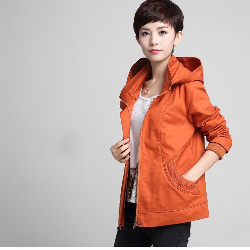 M Coréen Automne 5xl Red À Color Mode Casual Capuche Lâche Grande Veste Femme Taille Tibetan orange khaki Coton Femmes Cyan wine De bYf7yv6g