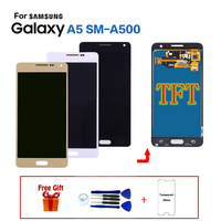 TFT display For Samsung Galaxy A5 SM A500F LCD Screen replacement for Samsung A500 A500FU A5000 A5009 A500M display lcd module