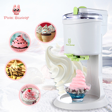 Home Appliances - Kitchen Appliances - DIY Ice Cream Maker For Kids Gift  Homeuse Ice Cream Machine Popular Home Automatic Fruit Juice Maker Household Small Appliance