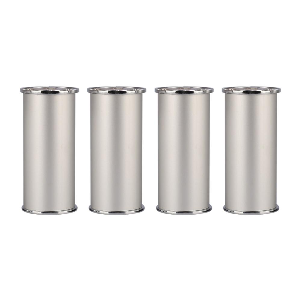 100x50MM Silver Aluminum Alloy Furniture Legs Height Adjustable Feet Cabinet Table Legs
