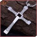 Быстрый и Яростный Ожерелье, мужчина Крест Ожерелье, человек Молиться Святая Статья Доминик Торетто Иисус Ожерелье