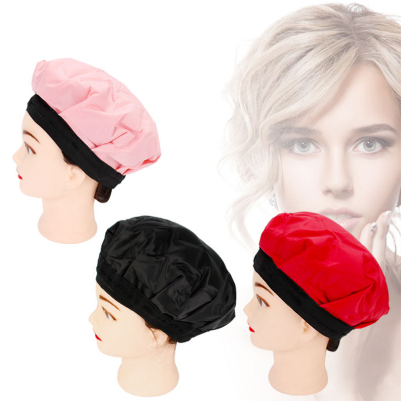 Heating Hair Cap Mask Hot Oil DIY Thermal Cold Treatment Hair Styling Beauty Hair Care High Qualty Cap For Styling Tools H7JP