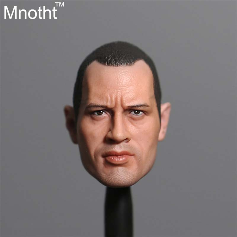 1/6 The Rock Johnson Head Proud Young Short Hair Version For 12'' Action Figure Doll Collection Toys piano books for the young musician