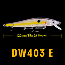 FLYBASS 1pc New design Painting Fishing lure 4.7″-11.94cm Fishing Bait 14.47g-0.51oz Minnow Lures 14 color Fishing Tackle Bass