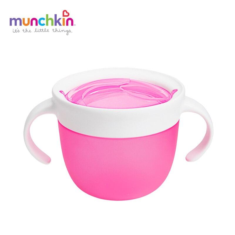 Munchkin 1pk snack-catcher alimentos bebé 7 oz colores al azar envía niños infantiles del bebé merienda taza BPA libre