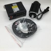 750W AC Servo Motor Drive Kits with Holding Brake NEMA34 2.4NM 220V 2500R/Min 0.75KW CNC Constant Torque MODbus RS485 RS232