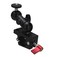 2017 NEW Rod Clamp 1 4 Hot Shoe Adapter 360 Rotating Monitor Mount For DSLR Camera