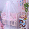 1 UNID Bebé ropa de Cama de Bebé Cuna Mosquitera Delicada Del Bebé Del Verano cama de Malla De Mosquitos Cúpula luces de la Cortina Netas para el Niño Cuna Cuna Canopy