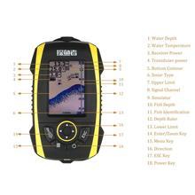 Phiradar 2.8″ Colorful Portable Wireless Fish Finder  IP67 Waterproof  512 Color Echo Sonar Fish Finder English Russia Languages