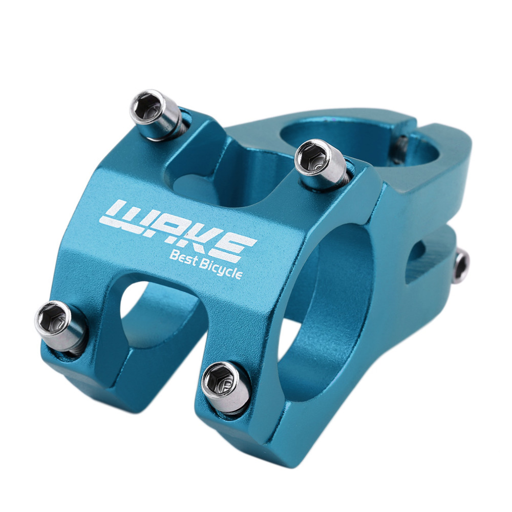 31.8mm adjustable Bicycle Stem Bicycle MTB Bike Aluminum Short Handlebar Stem Riser Fixed Bike Bar Stem WHolesale image