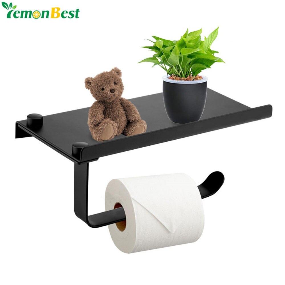 Stainless Steel Toilet Roll Storage