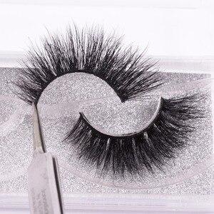 Image 1 - WZSQJN Eyelashes 3D Mink Eyelashes Long Lasting Mink Lashes Natural Dramatic Volume Eyelashes Extension False Eyelashes