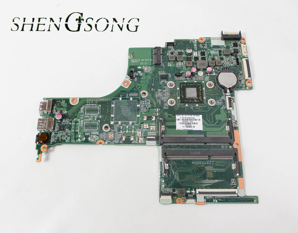 809337-001 Free Shipping 809337-501 DA0X22MB6D0 X22 for HP Pavilion 15-ab motherboard A8-7410 CPU.All fully Tested ! 744008 001 744008 601 744008 501 for hp laptop motherboard 640 g1 650 g1 motherboard 100% tested 60 days warranty