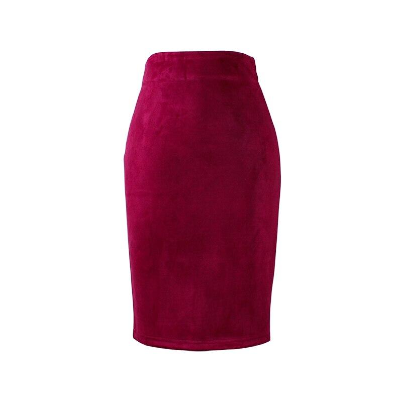 HTB1lI3IQXXXXXc1aXXXq6xXFXXXi - Wine Red Women Pencil Skirts JKP227