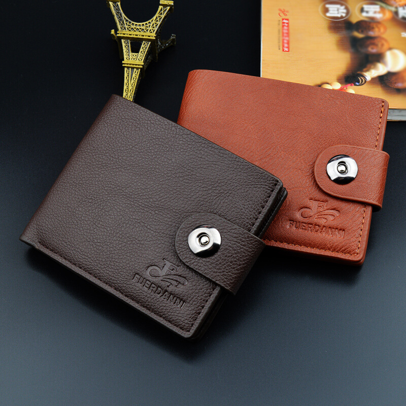Hot Sale Men's Wallet Fashion Pu Leather Men Wallets Luxury