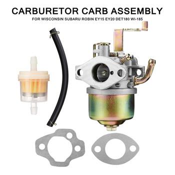 Carb gaźnika Fit do Wisconsin-Subaru Robin EY15 EY20 DET180 WI-185 Generator 73x69x113mm wymiana układ zasilania paliwem tanie i dobre opinie CN (pochodzenie) 6 9cm none China 11 3cm 7 3cm other 225g Carburetor