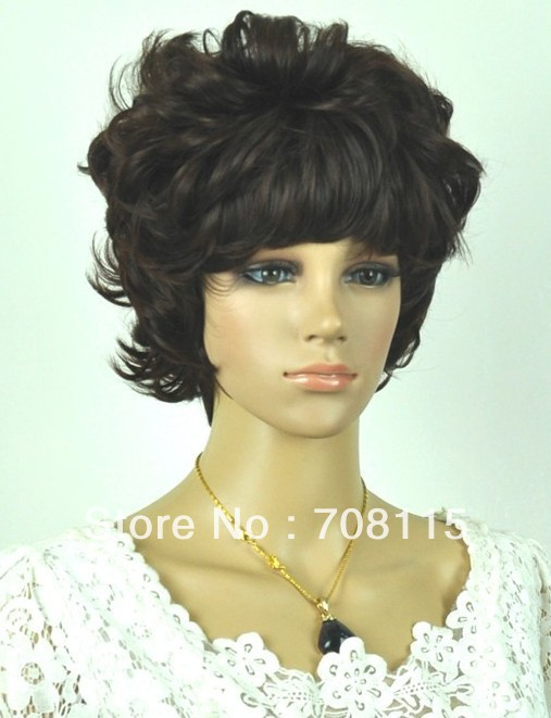 Free shipping 2013 New fashion styles Synthetic hair woman ...