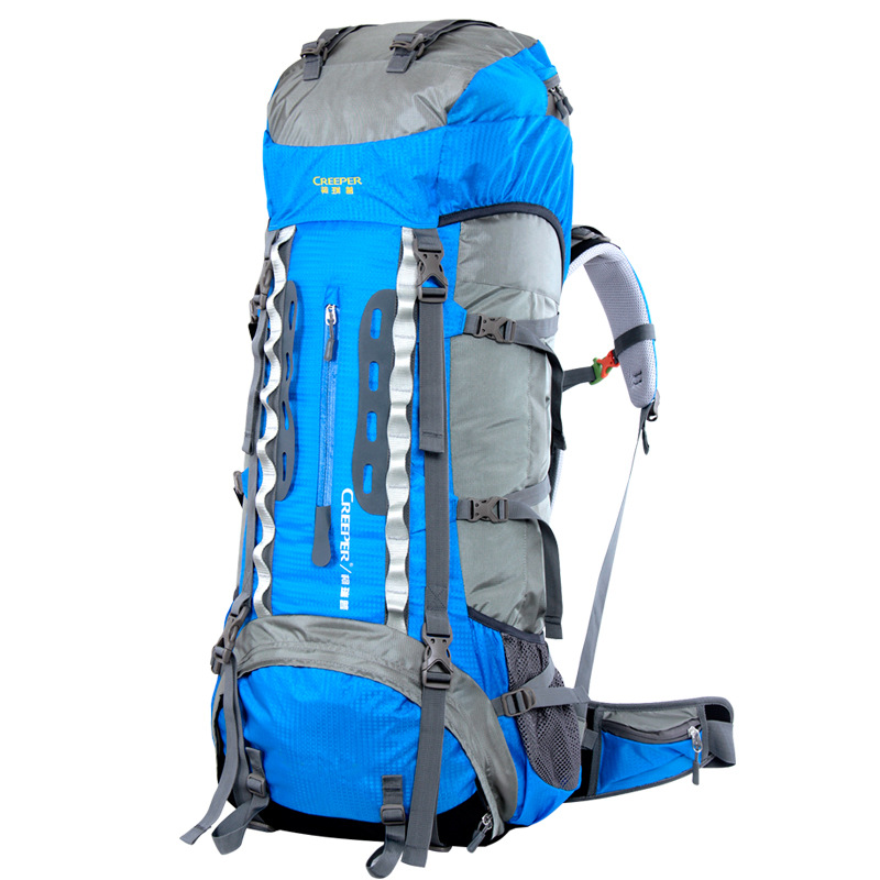 70L Nylon waterproof rucksack CR system outdoor professional mountaineering bag camping hiking outdoor backpack portable 2018 hot 70l big capacity outdoor sports bag military tactical backpack hiking camping waterproof wear resisting nylon rucksack