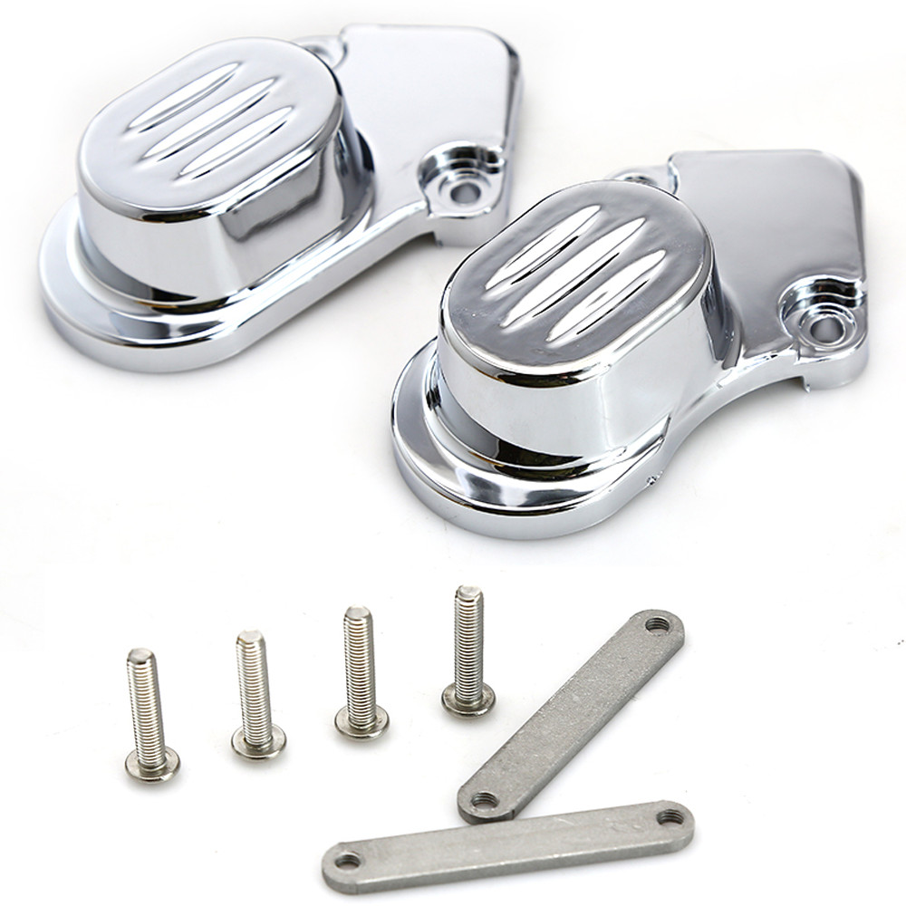 1set Chrome Rear Axle Caps Cover Kit Motorcycle Accessories For 2005-2014 Harley Davidson Sportster XL 883 1200N #7395 abs rear chrome axle cap cover kit motorcycle decorative accessories for harley davidson sportster xl883 1200n 2005 2014 7395