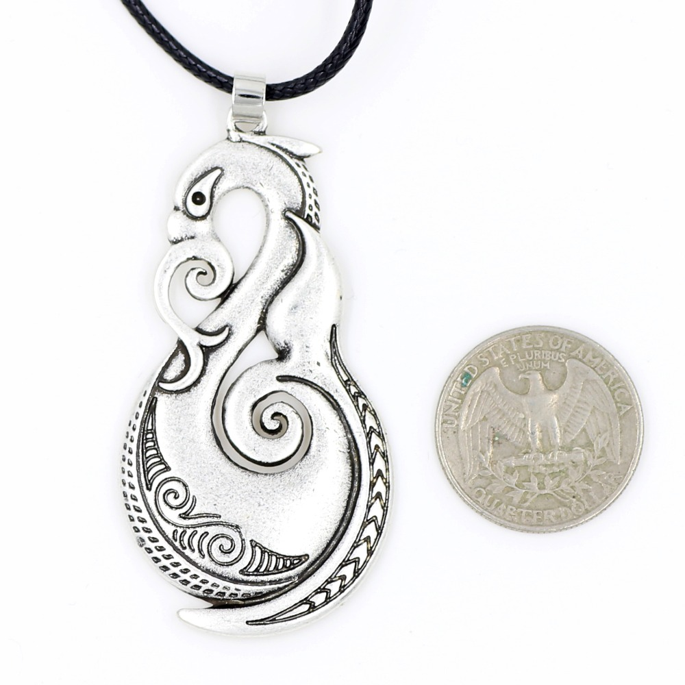 Pikorua necklace pendant maori twist symbol mask manaia koru pikorua necklace pendant maori twist symbol mask manaia koru tribal new zealand gift for men women travelers travel souvenir in pendant necklaces from biocorpaavc Images