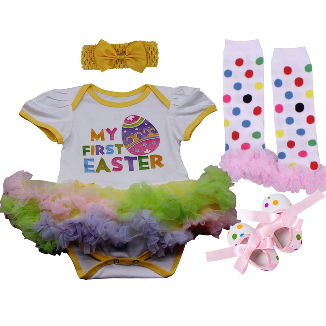 День Святого Валентина, пасхальные комплекты одежды для малышей, костюм с кроликом, комплект одежды для новорожденных девочек, комбинезон, платье, праздничный костюм, детская одежда