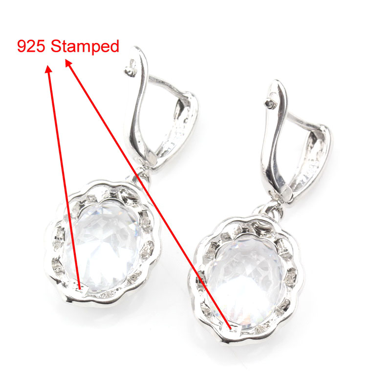 2019 Special Price Accessories New Fashion Women Wedding Jewelry Sets 925 Sterling Silver White Zircon Ring Size 6/7/8/9/10