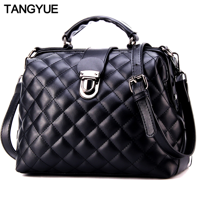TANGYUE Luxury Women Leather Handbags Women's Shoulder Bag Female Messenger Bag Women's Crossbody ladies femme sac a main 2018