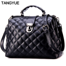TANGYUE Luxus Frauen Leder Handtaschen frauen Schulter Tasche Weibliche Messenger Tasche frauen Crossbody damen femme sac ein haupt 2018