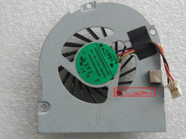 O envio gratuito de nova marca para toshiba t210 t210-01b cpu série laptop cooling fan