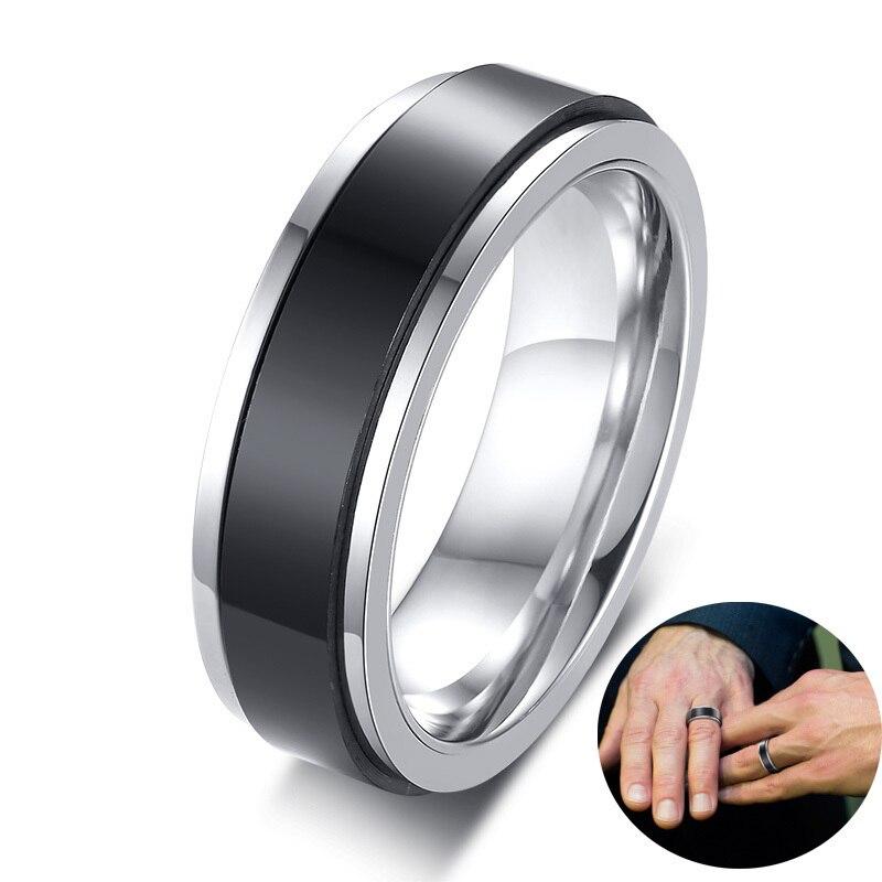 DrehringRadringBeweglicher Ring Zappelring Spinner Ring Meditationsring
