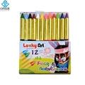 OPHIR 12 Colors Face Body Paint Mini Pigment Crayon Pearl Neon Fluorescent Makeup Children Face Paint Pigment UV Glow Party Set