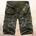 2017 Macho Militar Camuflagem Do Exército dos homens de Carga Shorts Shorts Verão Calções de Treino Homme Casuais Bermuda Masculina plus size 40