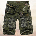 2017 Male Military Shorts Summer Men's Camouflage Army Cargo Shorts Workout Shorts Homme Casual Bermuda Masculina plus size 40