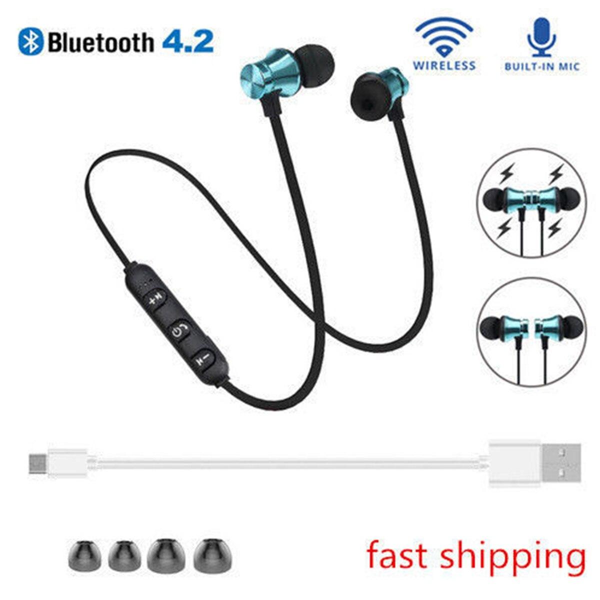 20 pièces JRGK Bluetooth Écouteur Aimant Sport Écouteur Intra-auriculaire Mains Libres Stéréo Premium fone de ouvido Pour xiaomi huawei samsung