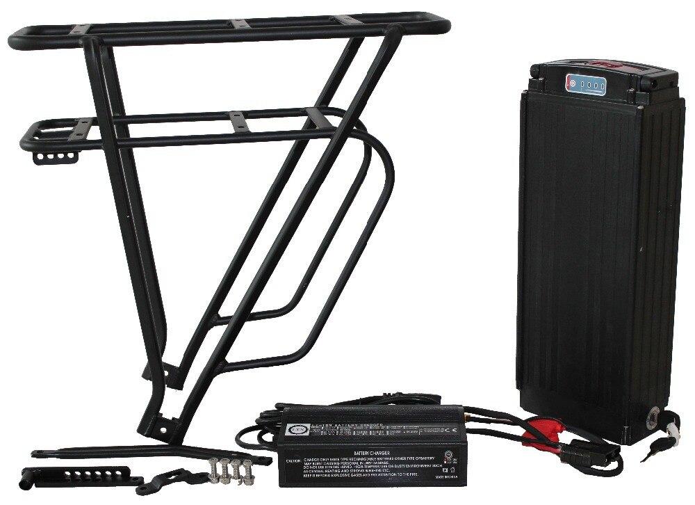 Conhismotor ebike 48 V trasero con batería (sin células y cargador) eléctrico grasa de