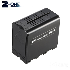 Image 2 - BB 6 6pcs AA Battery Case Pack Battery Holder Power as NP F NP 970 Series Battery for LED Video Light Panel / Monitor