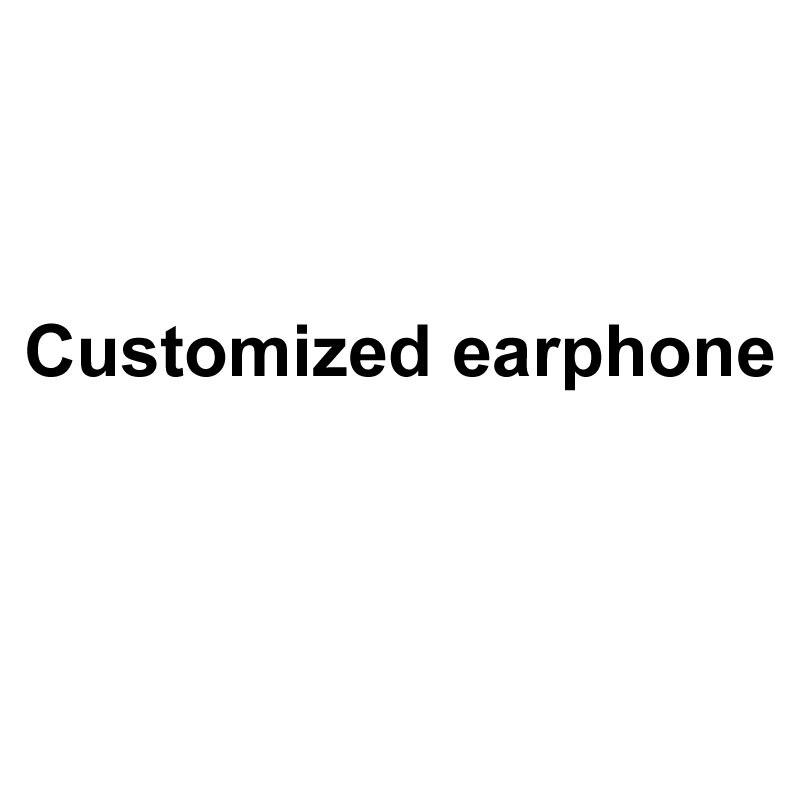 Fone de ouvido personalizado (Por Favor Não A Ordem Neste Link)