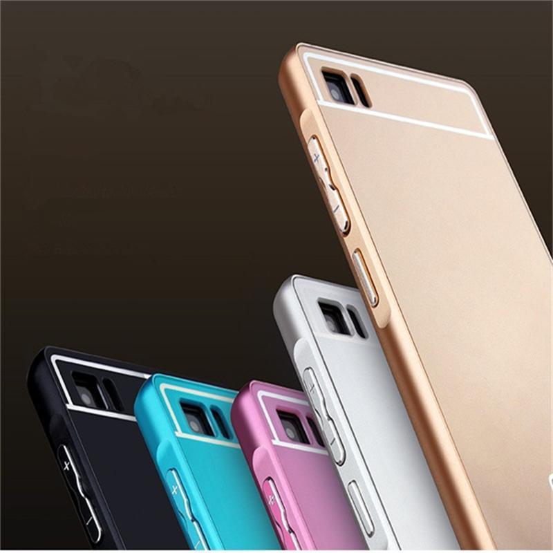 Xinchentech För Xiaomi Mi3 Väska Metall Aluminium + Akryl Hårt - Reservdelar och tillbehör för mobiltelefoner - Foto 2