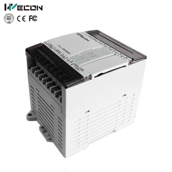 LX3V-0806MT-A 14 pontos plc wecon controlador lógico com o software mitsubishi plc