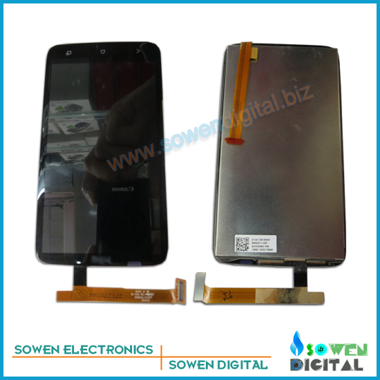 for HTC One X G23 S720E LCD display screen with touch screen digitizer assembly full set, LCD
