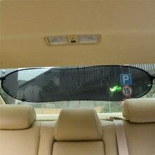 1pc 100cm*50cm Black car Rear Window Car Sun Shade Mesh Visor Shield Screen Sunshade Cover Side