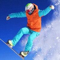 Men S Winter Skiing Suits Ski Jackets Pants Waterproof 10000P Snowboard Jacket Snow Coat Snow Trousers